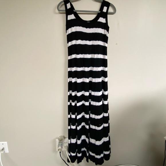 Calvin Klein Dresses & Skirts - Calvin Klein Maxi Dress Tie Dye Pattern